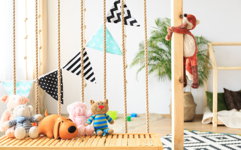Колкото повече играчки имат децата толкова по-малко играят с тях