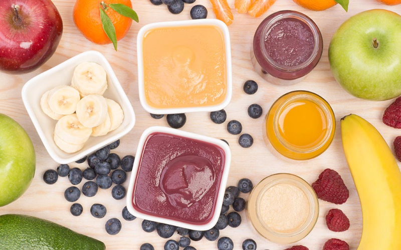Захранване на бебето с плодове - ред на въвеждане, избор и приготвяне