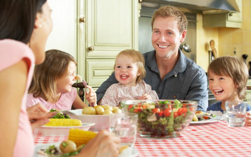 Хранителните навици в семейството определят бъдещото меню на детето
