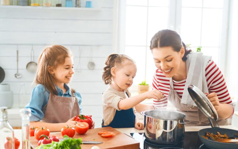 Съвети за здравословно готвене за заети майки