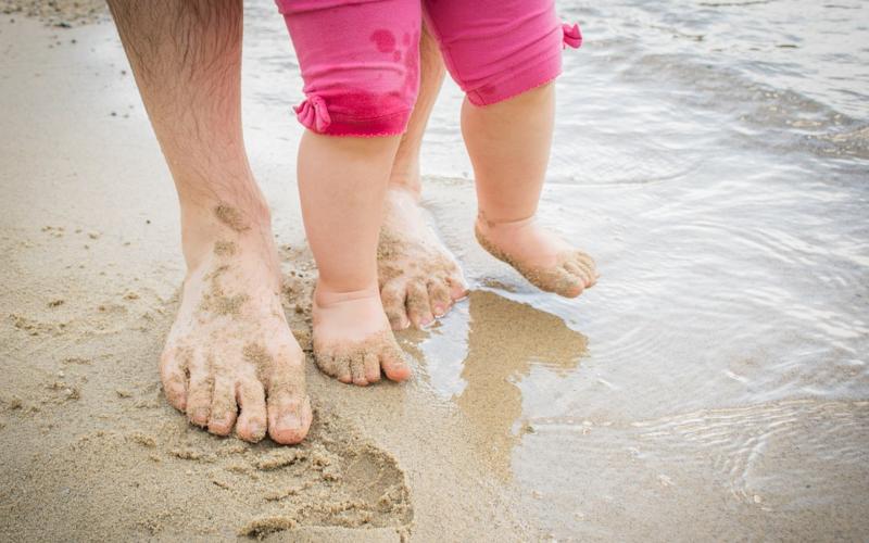 Ползи от морската вода за здравето на децата